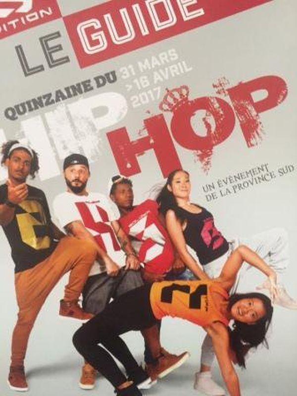 Affiche Quinzaine hip-hop 2017