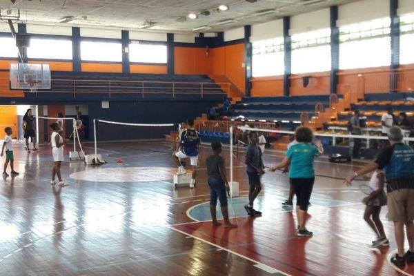 Stage Shuttle Time Badminton au stade Louis Achille de Fort-de-France
