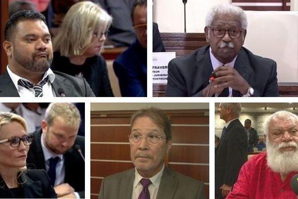 Mosaïque réactions à la présidence du Congrès