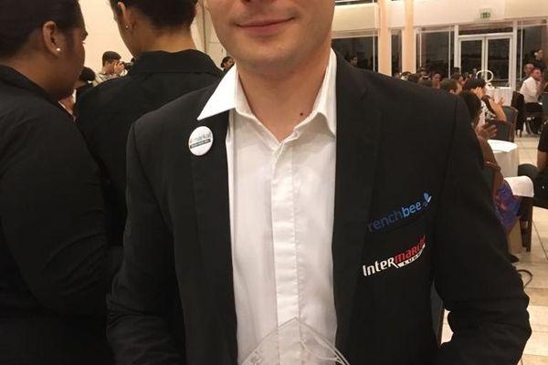 Jérémy Jacquemet, 1er prix Professionnel Bar