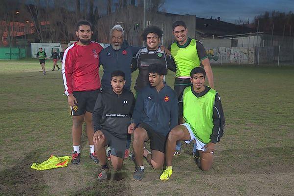 Rugby six calédoniens Aix