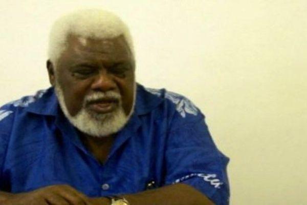 L'ancien ministre vanuatais des Finances, Willie Jimmy