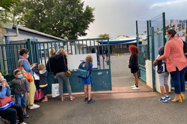 Rentrée à l'école Grand Canal de la Bretagne