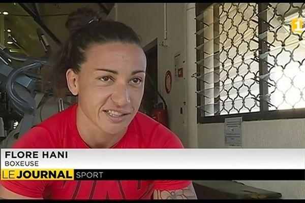 Rencontre avec Flore Hani, boxeuse professionnelle