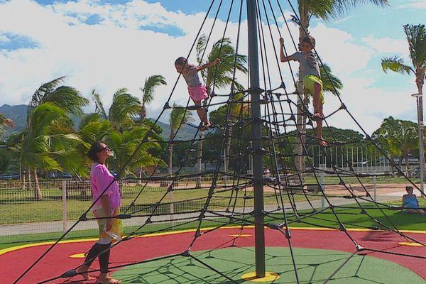 Le parc d'Aorai Tinihau, une bouffée d'air pour les habitants de la côte Est