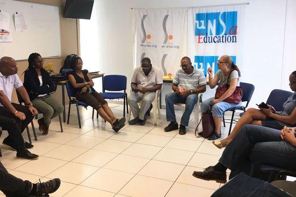 1er mai 2018, un débat animé au siège de l'UNSA