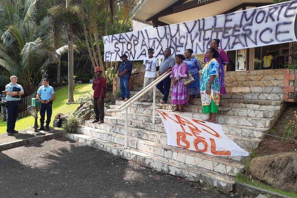 Opération ville morte à Houailou contre les actes de délinquance