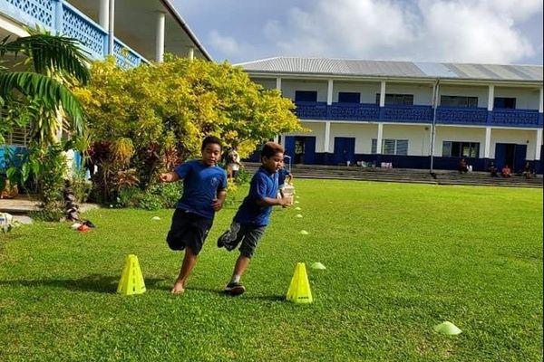 Cross à l'école primaire de Mata-Utu
