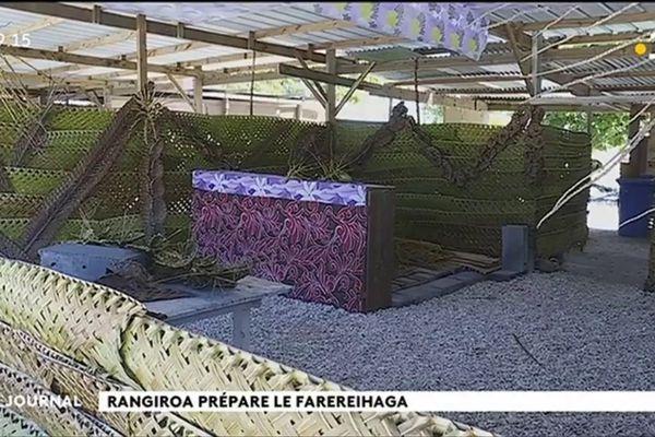 Rangiroa prépare son 8e Farerei Haga