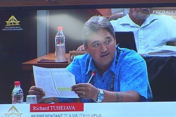 Richard Tuheiava va rejoindre mercredi l'ONU