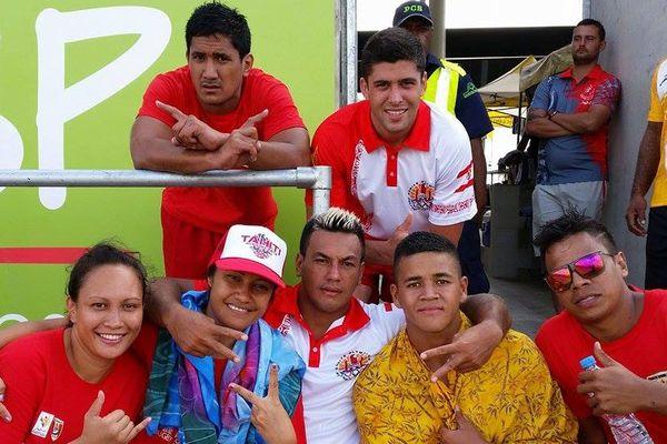 Déjà 17 médailles d'or pour Tahiti !