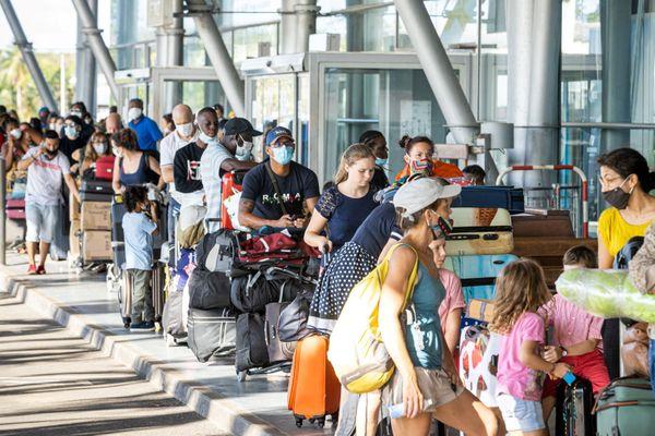Pagaille à l'aéroport de Cayenne