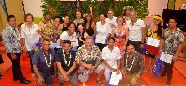 Etudiants et membres du jury