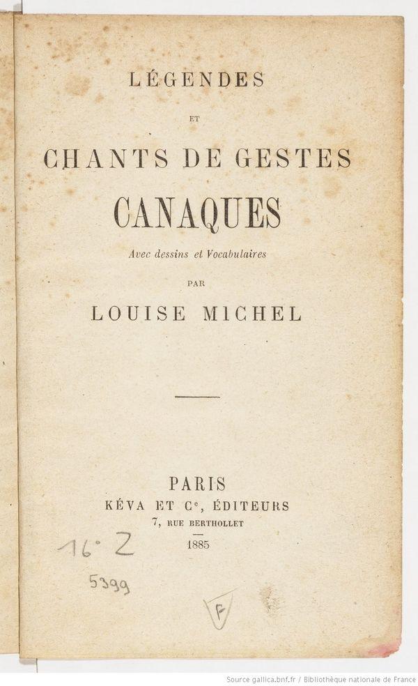 150ème anniversaire de la Commune: Louise Michel, une déportée pas comme les autres