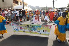 L'Association Carnaval Sud de Martinique, lors de la traditionnelle parade du lundi gras (archives)