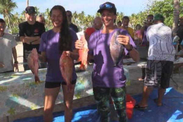 Championnat de Polynésie de pêche sous marine 2019