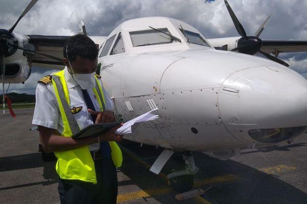 Air Guyane reprend ses vols commerciaux