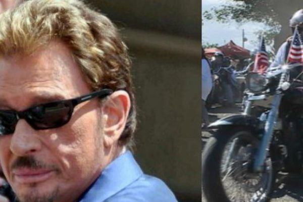 Dernier hommage des bikers de Tahiti à Johnny samedi