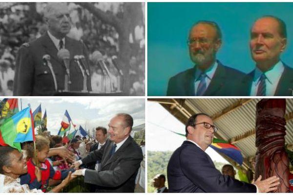 présidents en Nouvelle-Calédonie
