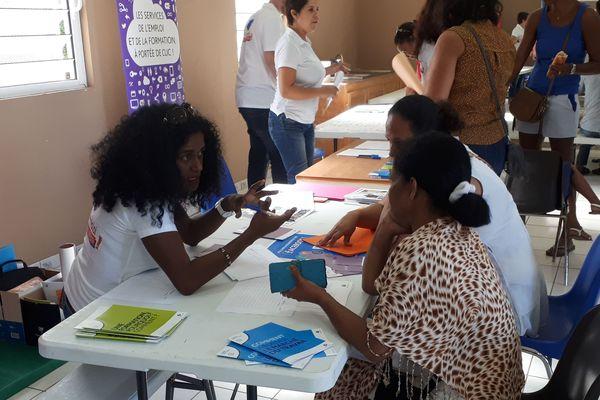 Forum de l'emploi à Sans Souci