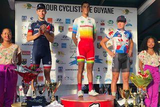 Le podium de la 6e étape TDG2019