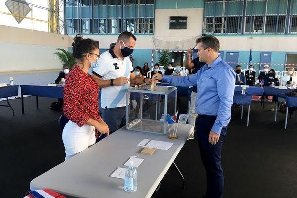 municipales investiture olivier riviere maire saint-philippe 230520