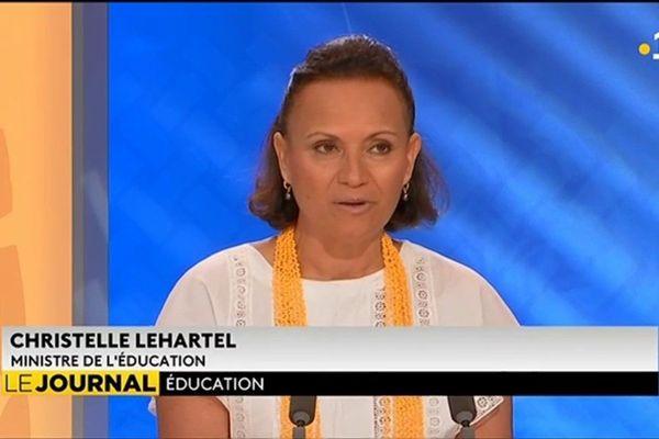 Christelle Lehartel : « Il faut élever le niveau général de tous les élèves »