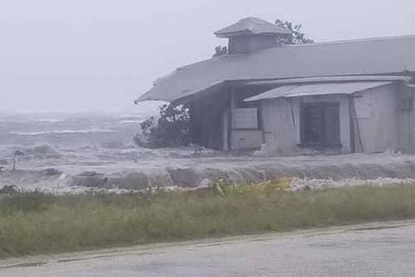 cyclone Tino à Tonga