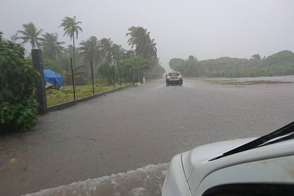 Fortes précipitations aux Tuamotu Nord-Ouest