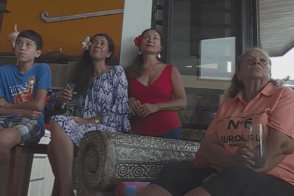 Famille miss tahiti