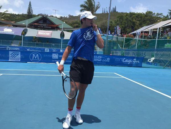 Challenger Nouméa tennis, JJ Wolf en finale, 13 janvier 2020