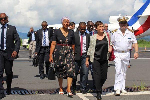 Arrivée Girardin à Mayotte