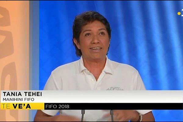 Tania Tehei : invitée du journal