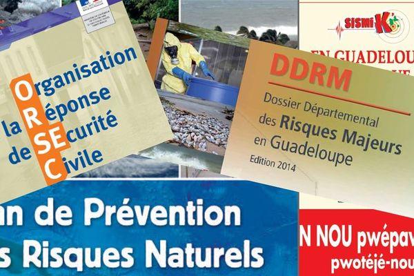 Documents de prévention et de gestion des risques