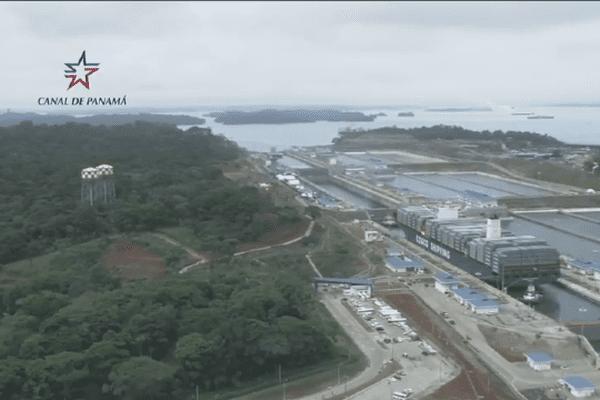 inauguration canal de panama