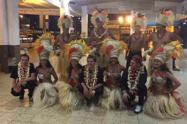Naâman est arrivé à Tahiti