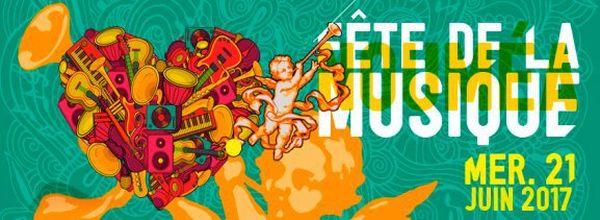 Visuel Fête de la musique 2017 Nouméa