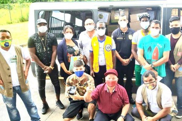 Action solidaire avec OIapoque pour le Lions Club Guyane