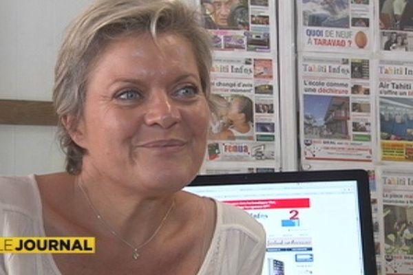 Nathalie Montelle Tahiti Infos