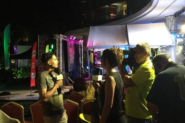 L'équipe de Polynésie 1ère présente au Tahiti Festival Guitare