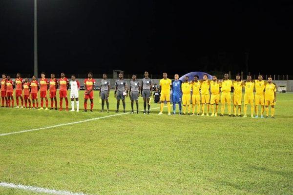 Le match Guyane-Grenade