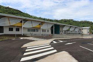 Nouveau site du collège et lycée de Bora-Bora
