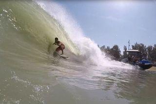 Surf : Michel Bourez se prépare pour la Surf Ranch Pro