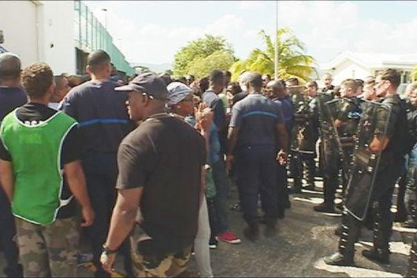 Prison : mobilisation en Martinique