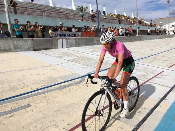 Tour cycliste féminin 2019, arrivée d'Océane Tessier