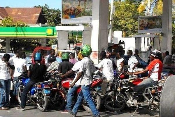 Haiti penurie carburant