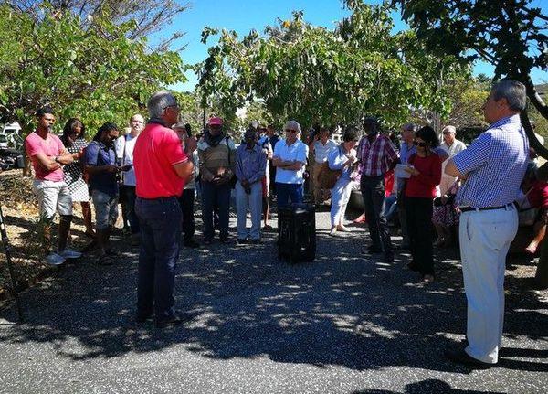 Rassemblement soutien Chagossiens Comité de Solidarité Chagos La Réunion 010918