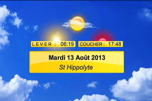 meteo 13 aout