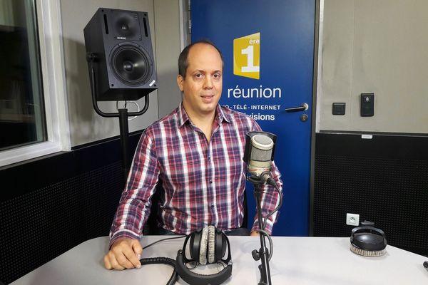 Olivier Teyssèdre, porte-parole de l'intersyndicale de l'ONF-Réunion