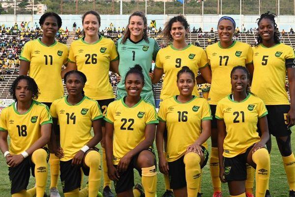 Équipe de foot féminine de Jamaïque